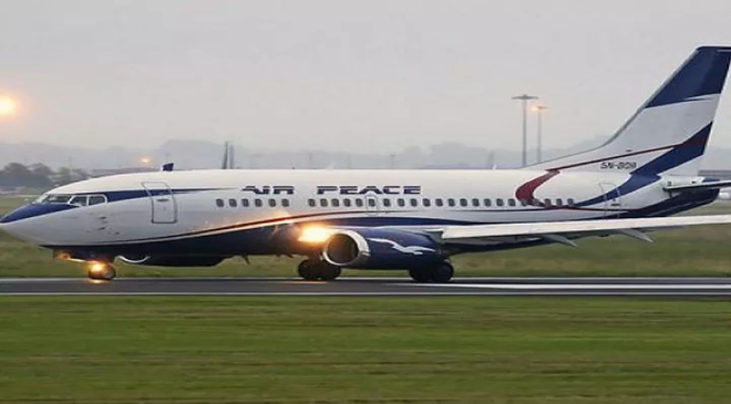 Image result for air peace plane photo image